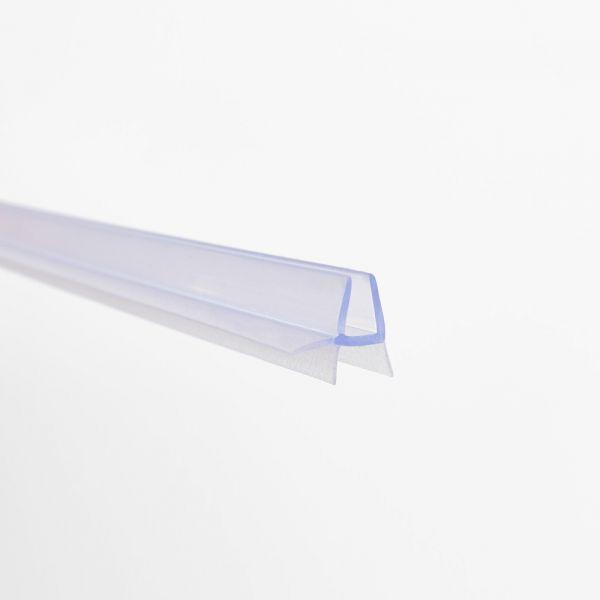 #1269 Wasserablaufprofil für 4-5mm Glas, Länge 1 Meter, transparent