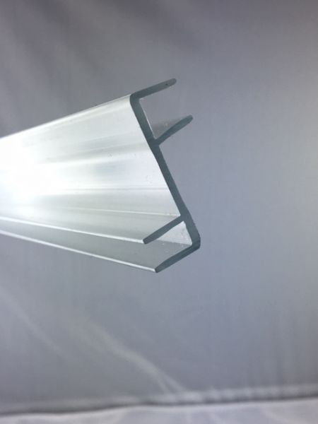 #24041 Z-Profil 35mm, transparent, für 8mm Glasstärke, Länge 2 Meter